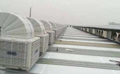 苏州加工业冷风机负压风机通风降温案例